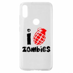 Чехол для Xiaomi Mi Play I love zombies