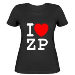 Женская I love ZP - FatLine