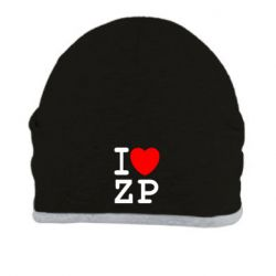 Шапка I love ZP - FatLine