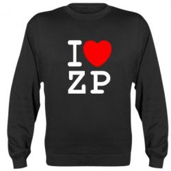 Реглан (свитшот) I love ZP - FatLine