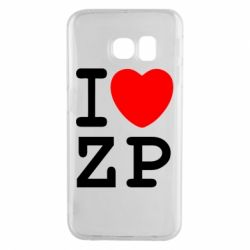 Чохол для Samsung S6 EDGE I love ZP