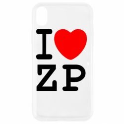 Чохол для iPhone XR I love ZP