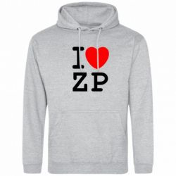 Толстовка I love ZP - FatLine