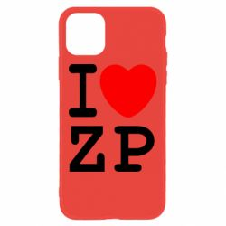 Чохол для iPhone 11 I love ZP