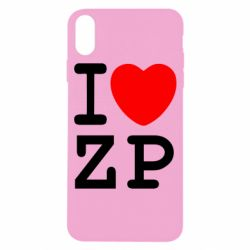 Чохол для iPhone X/Xs I love ZP