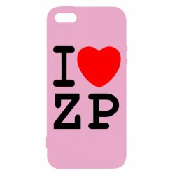 Чохол для iphone 5/5S/SE I love ZP