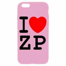 Чохол для iPhone 6/6S I love ZP