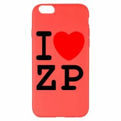 Чохол для iPhone 6 Plus/6S Plus I love ZP