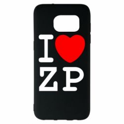 Чохол для Samsung S7 EDGE I love ZP