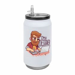 Термобанка 350ml I'm a bearded designer