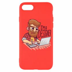 Чехол для iPhone 7 I'm a bearded designer