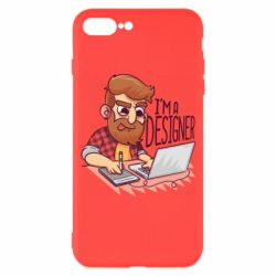 Чехол для iPhone 7 Plus I'm a bearded designer
