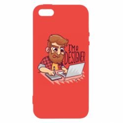 Чехол для iPhone5/5S/SE I'm a bearded designer