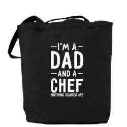 Сумка I'm a dad and a chef, nothing scares me