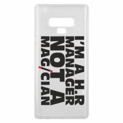 Чехол для Samsung Note 9 I'm a h.r. manager not a magician