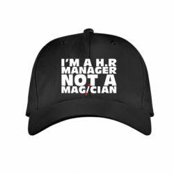 Детская кепка I'm a h.r. manager not a magician, FatLine  - купить со скидкой