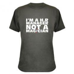 Камуфляжная футболка I'm a h.r. manager not a magician