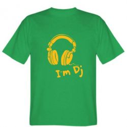 Мужская футболка I'm DJ - FatLine