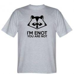 Мужская футболка I'm ENOT - FatLine