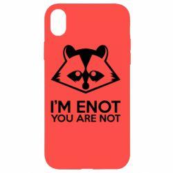Чехол для iPhone XR I'm ENOT