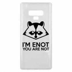 Чехол для Samsung Note 9 I'm ENOT