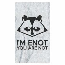 Полотенце I'm ENOT