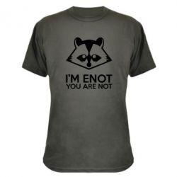 Камуфляжная футболка I'm ENOT - FatLine