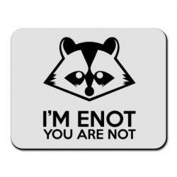 Коврик для мыши I'm ENOT - FatLine
