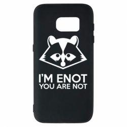 Чехол для Samsung S7 I'm ENOT