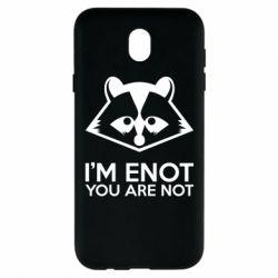 Чехол для Samsung J7 2017 I'm ENOT