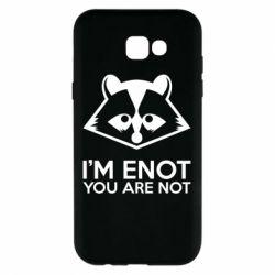 Чехол для Samsung A7 2017 I'm ENOT