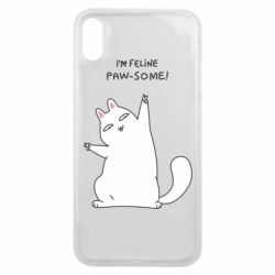 Чехол для iPhone Xs Max I'm feline paw some