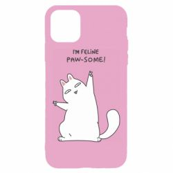 Чехол для iPhone 11 I'm feline paw some