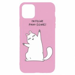 Чехол для iPhone 11 Pro I'm feline paw some