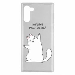 Чехол для Samsung Note 10 I'm feline paw some