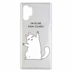 Чехол для Samsung Note 10 Plus I'm feline paw some
