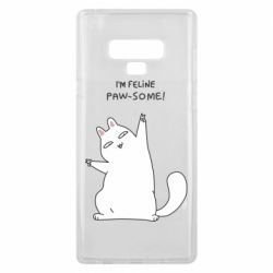 Чехол для Samsung Note 9 I'm feline paw some
