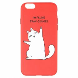 Чехол для iPhone 6 Plus/6S Plus I'm feline paw some