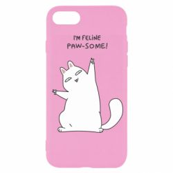 Чехол для iPhone 7 I'm feline paw some