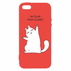 Чехол для iPhone5/5S/SE I'm feline paw some
