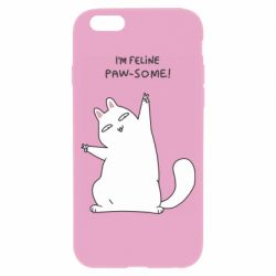 Чехол для iPhone 6/6S I'm feline paw some