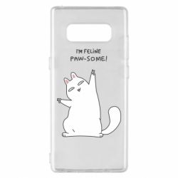 Чехол для Samsung Note 8 I'm feline paw some