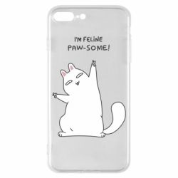 Чехол для iPhone 8 Plus I'm feline paw some
