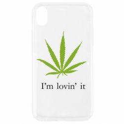 Чехол для iPhone XR I'm lovin it!