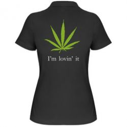 Женская футболка поло I'm lovin it! - FatLine