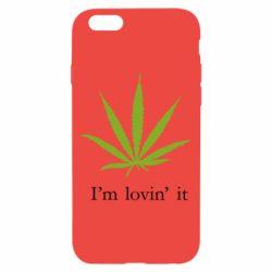 Чехол для iPhone 6/6S I'm lovin it!