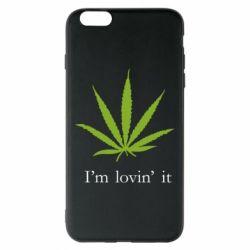Чехол для iPhone 6 Plus/6S Plus I'm lovin it!
