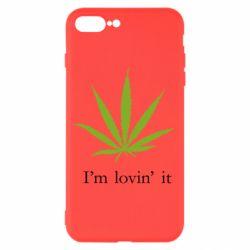 Чехол для iPhone 7 Plus I'm lovin it!