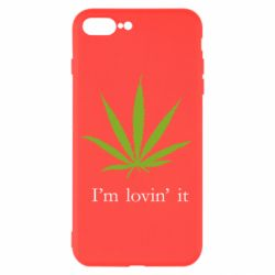 Чехол для iPhone 8 Plus I'm lovin it!