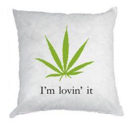 Подушка I'm lovin it! - FatLine